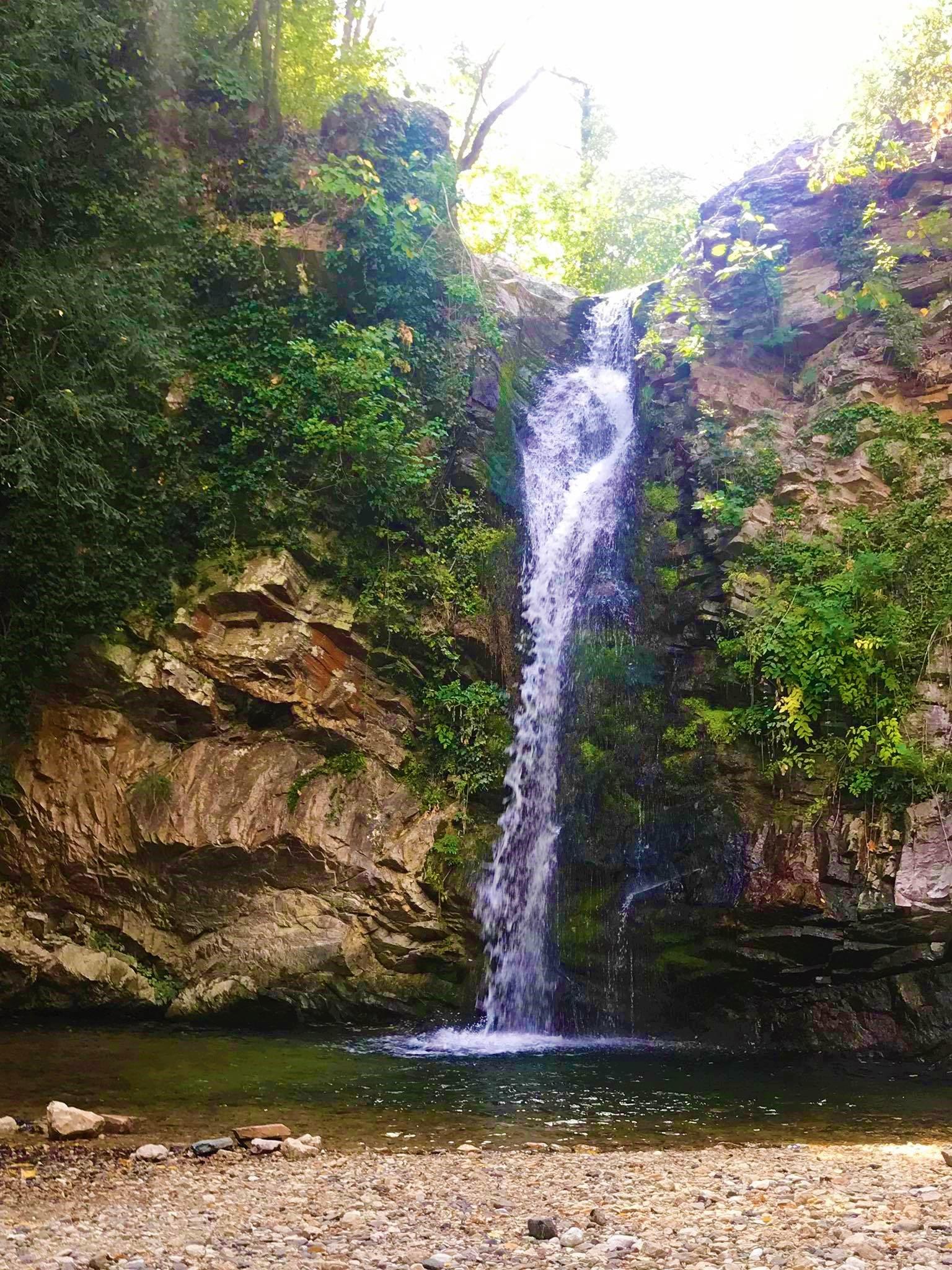 Daily trip to the waterfalls of Ag. Varvara