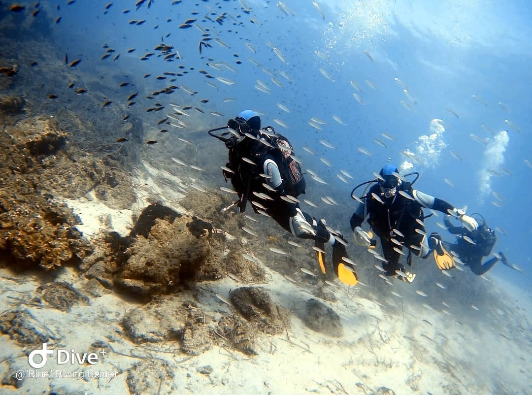 Scuba diving in Halkidiki